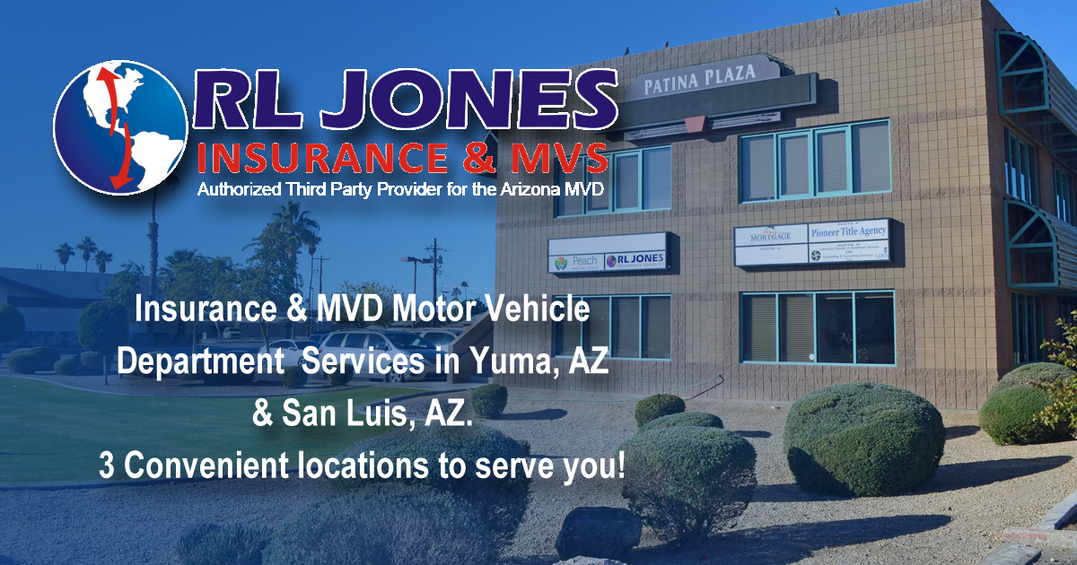 Rl Jones Insurance And Motor Vehicle Services